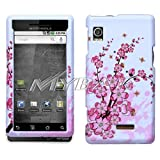 Motorola Droid A855 Spring Flowers Phone Protector Cover Hard Case/Cover/Fa ....
