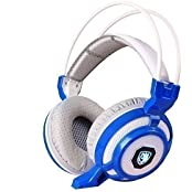GT SADES SA718 3.5mm Wired Stereo Gaming Headsets Over-Ear Headband Headphones With Microphone Noise Canceling...