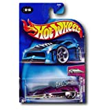 Hot Wheels Mattel Hot Wheels 2004 First Editions 1:64 Scale Purple & Silver Hardnoze 2 Cool Die Cast Car #016