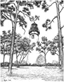 Notecards - Package of 10 - Amelia Island Lighthouse