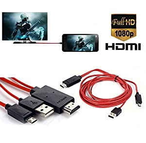 Alltech Devices, MHL MIcro USB to HDMI 1080P HD TV Cable Adapter for Samsung Galaxy S3 S4 S5 Note 2 Note 3