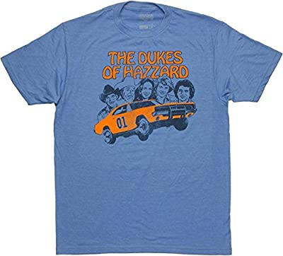 Dukes of Hazzard Mens Lightweight T-shirt