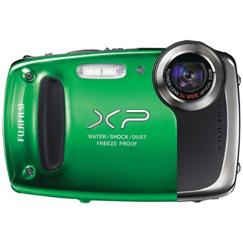 14.0 Megapixel Finepix Xp50 Digital Camera (Green)