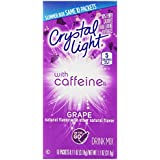 Crystal Light On-the-Go Drink Mix, Grape, 0.11-Ounce Packets (Pack of 120)