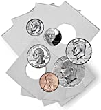 Coin Flip Assortment - Cardboard 2x2 Holders - 25 each of 6 Sizes