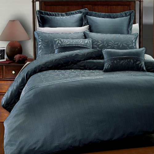 7PC- Full/Queen Veronica Duvet Cover Set By Hotel