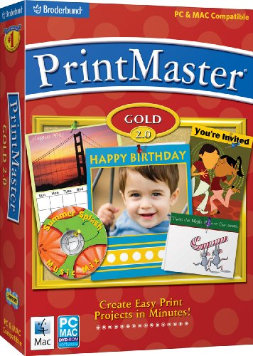 PrintMaster Gold 2.0
