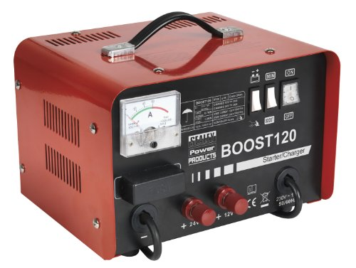 Sealey BOOST120 Starter/ Charger, 120/ 20 A, 12/ 24/ 230 V