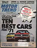 MOTOR TREND Toyota Corona Plymouth Cricket Dodge Colt 383 440 Boss 429 + 12 1970