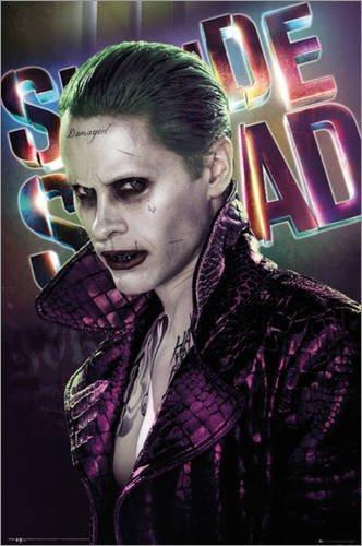 Poster Suicide Squad - Joker - manifesto risparmio, cartellone XXL