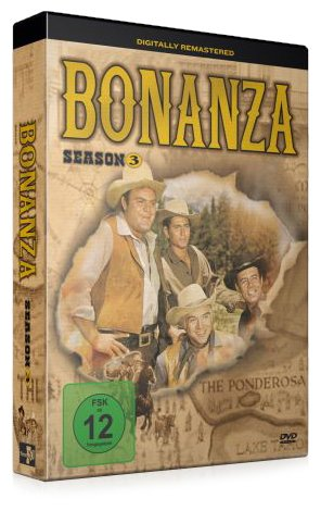 Bonanza - Season 3 (4 DVDs)