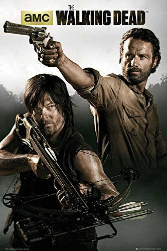 GB eye, The Walking Dead, Rick and Daryl, Maxi Poster, 61x91.5cm