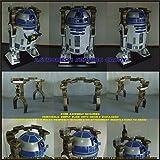 R2-D2 Fiberglass Life Size Deluxe Sailbarge Statue Star Wars Prop