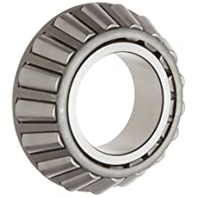 "Timken JW5549 Tapered Roller Bearing, Single Cone, Standard Tolerance, Straight Bore, Steel, Inch, 2.1654"" ID, 1.2200"" Width"