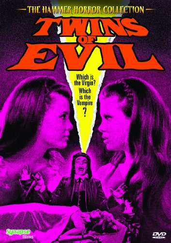 DVD : Twins of Evil (Widescreen, Mono Sound)