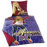 """Global Labels G 15 600 WD62 100 Disney Renforce Bettw�sche Fotodruck Hannah Montana 135 x 200 cm Bettbezug / 80 x 80 cm Kissenbezugvon """"Hannah Montana"""""""
