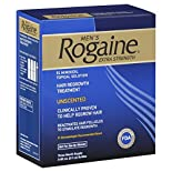 Rogaine Men's Hair Regrowth Treatment, Extra Strength, Unscented, 3 - 2 fl oz (60 ml) bottles