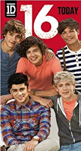 Official One Direction 1d Birthday Card - Age 16 from Global Merchandising