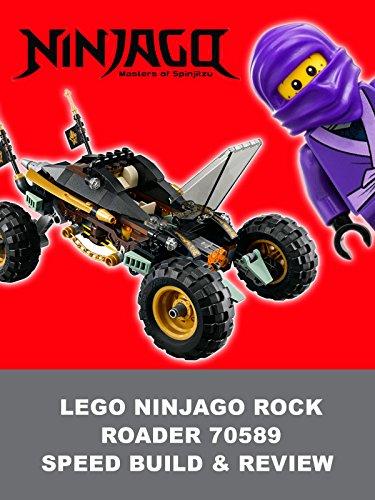 Review: LEGO Ninjago Rock Roader 70589 Speed Build & Review