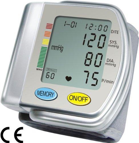 FamilyDoc® Professional Tensiomètre de poignet Détection Arythmie