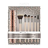 Ecotools Cruelty Free Ect 10 Year Anniversary Make Up Brush Set Made with Sustainable and Recycled Materials; With Custom Cut Bristles (Tamaño: 10 Year Anniversary Set)