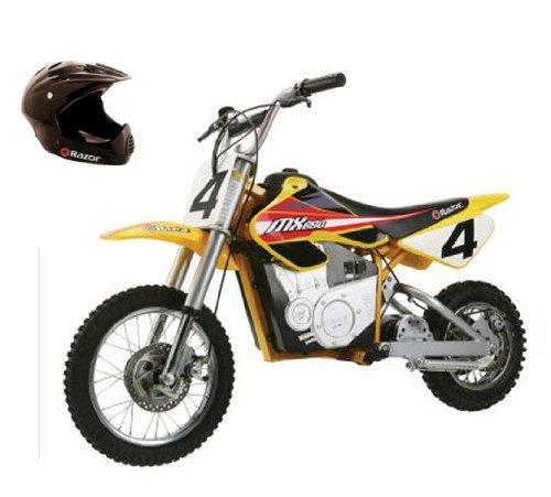 Razor Mx650 Dirt Rocket 36V Electric Motorcycle Bike & Full Face Helmet