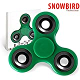 SNOWBIRD FIDGET SPINNER STRESS BUSTER TOY, GREEN