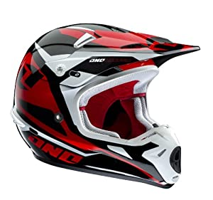 One Industries Kombat Hudson Red X-Small Off-Road Helmet