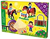 SES Creative Children's Iron on Beads Horse Riding School Set