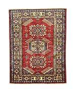 Eden Carpets Alfombra Kazak Super Rojo 111 x 86 cm