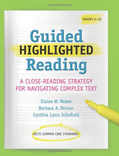 Guided Highlighted Reading (Maupin House)