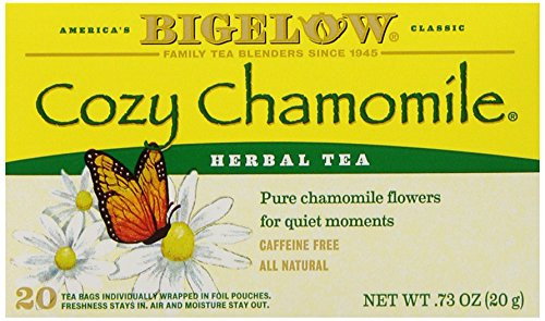 Bigelow Cozy Chamomile Herbal Tea, 20-Count Boxes (Pack of 6) (Flavor Of Green Tea Over Rice compare prices)