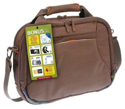 """Case Logic 13"""" Slim Briefcase - Sacoche pour ordinateur portable - 13"""" - brun"""