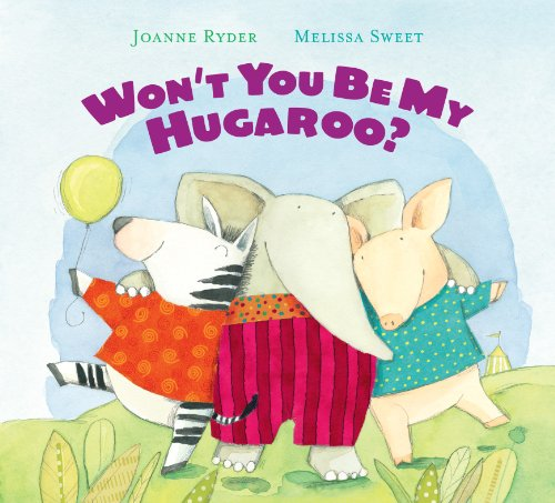 Won'T You Be My Hugaroo? Lap Board Book front-1050565
