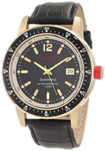 red line Men's 50013-YG-01-BK Meter Automatic Black Watch