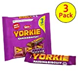 Nestle Yorkie Raisin and Biscuit 3 x 55g