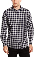 Selected Homme Men's Greff Checkered Long Sleeve Casual Shirt