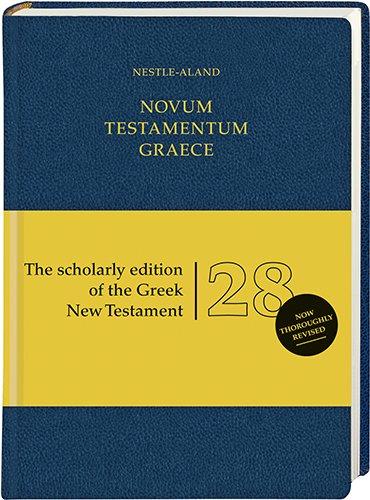 Novum Testamentum Graece (NA28): Nestle-Aland 28th Edition (Ancient Greek Edition)