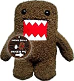 "Licensed 2 Play Domo Farting 6 1/2"" Plush Novelty Doll"