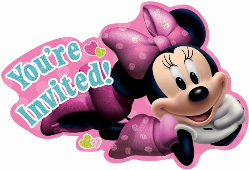 Sale!! Minnie Invitations