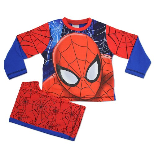 Spiderman Pyjamas | Boys Spiderman PJs| Full Face | Fr Age 2 to 10 Years
