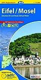 ADFC-Regionalkarte Eifel/ Mosel mit Tagestouren-Vorschlägen, 1:75.000, reiß- und wetterfest, GPS-Tracks Download: Zwischen Ahr und Mosel, Kyll und Rhein