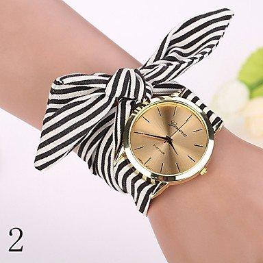 Fenkoo 2015 moda newgeneva guarda le donne vestono la vigilanza orologio ragazza fascetta arco