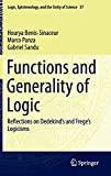 img - for Functions and Generality of Logic: Reflections on Dedekind's and Frege's Logicisms (Logic, Epistemology, and the Unity of Science) book / textbook / text book