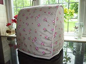 country cottage rose taupe kitchen food mixer cover. Black Bedroom Furniture Sets. Home Design Ideas