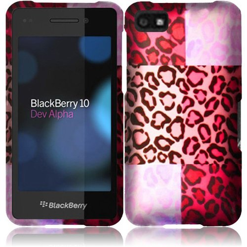 Cell Accessories For Less (Tm) For Blackberry Z10 Rubberized Design Cover Case - Exotic Cheetah - By Thetargetbuys *Free Shipping*