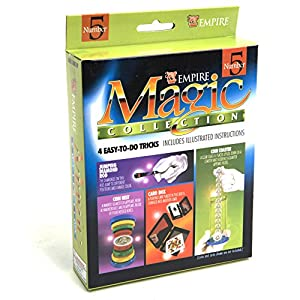 Coin Nest, Card Box & More Magic Tricks Kit