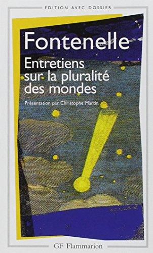 Entretiens Sur La Pluralite DES Mondes (French Edition)