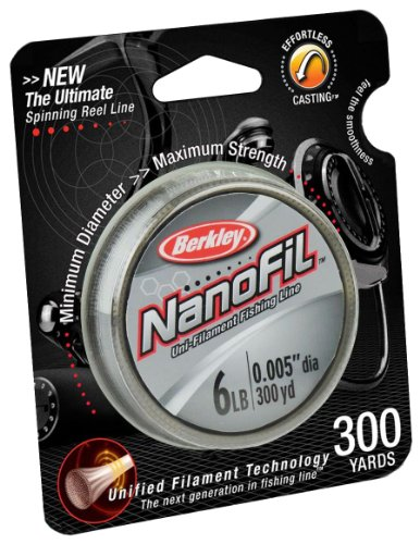 Berkley NanoFil Uni-Filament Fishing Line - 300 Yard