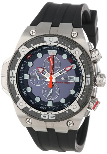Citizen Men's BJ2135-00E Eco-Drive Promaster Carbon Rubber Strap Imperial Dive Watch